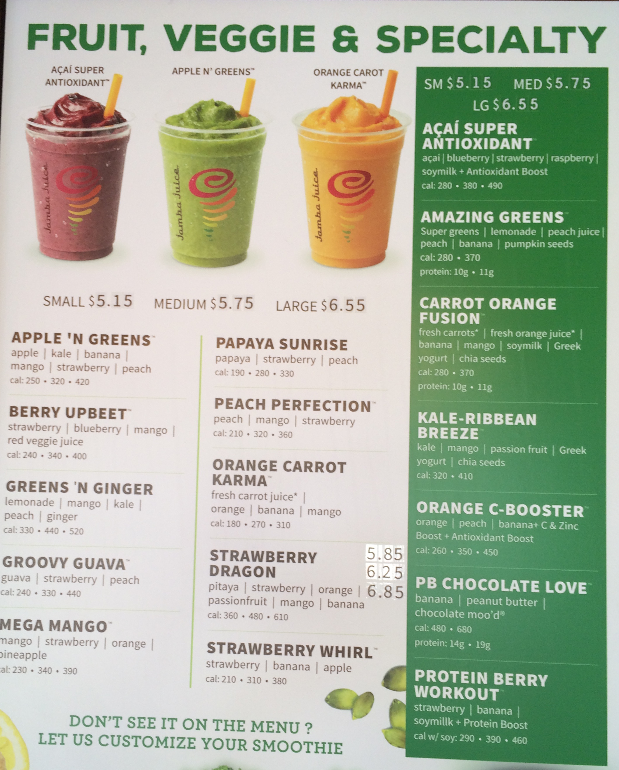 59 rows · Feb 10,  · Jamba Juice Company is a juice and smoothie restaurant chain, 5/5(1).